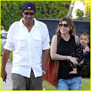 Ellen Pompeo & Chris Ivery: Happy Family with Stella!
