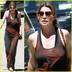 Ellen Pompeo: Hot Day, Hot Dress