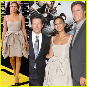 Eva Mendes, Mark Wahlberg & Will Ferrell: 'Other Guys' Premiere
