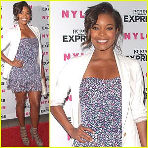 Gabrielle Union: Nylon & Express Partygoer!