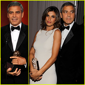 George Clooney: Emmy Awards with Elisabetta Canalis!