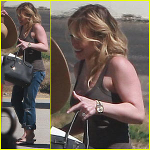 Hilary Duff: Honeymoon Period with Mike Comrie!