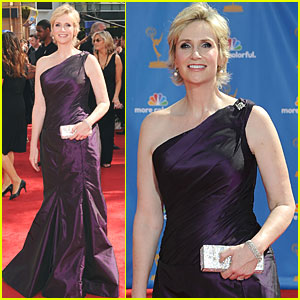Jane Lynch - Emmys 2010 Red Carpet