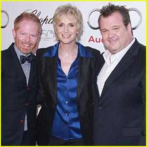 Jane Lynch & Modern Family: Emmys Celebration!