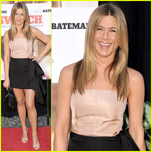 Jennifer Aniston Switches It Up at the Cinerama Dome