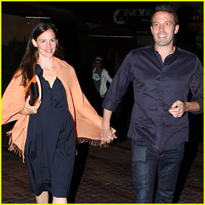 Jennifer Garner & Ben Affleck: Nobu Date Night!