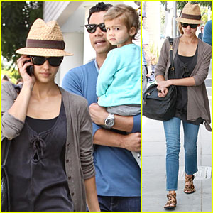 Jessica Alba & Honor: Back in Beverly Hills!