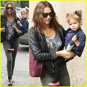 Jessica Alba & Honor Warren: Griddle Brunch Beauties