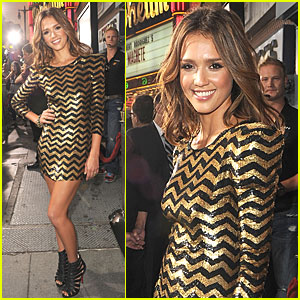 Jessica Alba: 'Machete' Movie Screening!