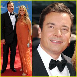 Jimmy Fallon - Emmys 2010 Red Carpet
