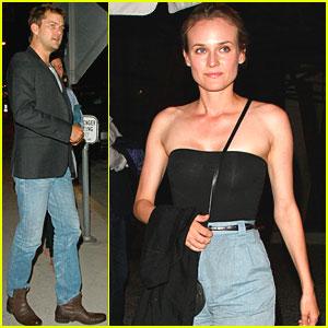 Joshua Jackson & Diane Kruger: Red O Duo