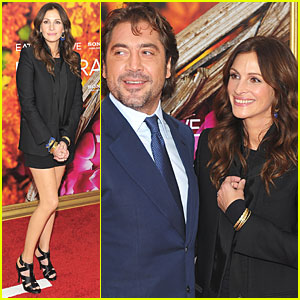 Julia Roberts: 'Eat, Pray, Love' Premiere with Javier Bardem!
