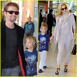 Kate Hudson & Matthew Bellamy: Heathrow Hook-Up