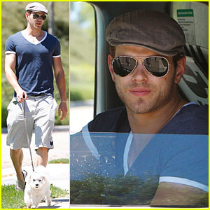 Kellan Lutz is Movin' On Up