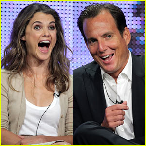 Keri Russell & Will Arnett: 'Running Wilde' with Excitement