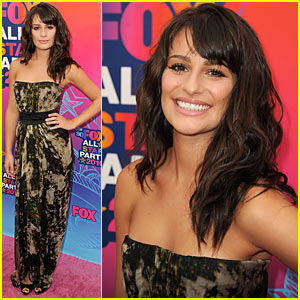 Lea Michele: Fox All-Star Party!