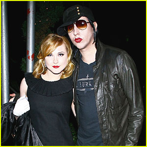 Evan Rachel Wood & Marilyn Manson Break Off E