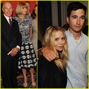 Mary-Kate Olsen: Fashion Night Out Kick-Off!