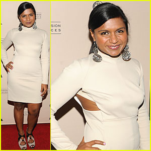 Mindy Kaling is Gorgeous in Gucci