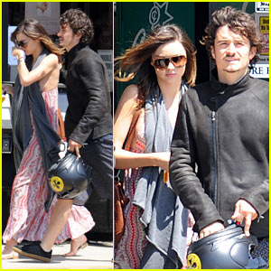 Orlando Bloom: Miranda Kerr Baby Bump Watch!