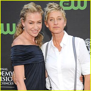 Portia de Rossi: Taking Ellen DeGeneres' Last Name!