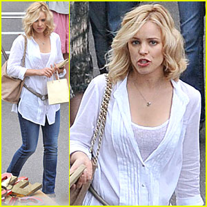 Rachel McAdams: 'Midnight' Movie Shoot!