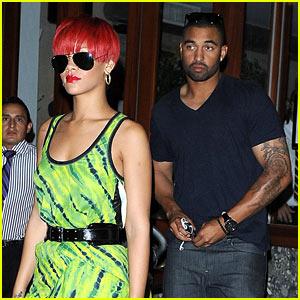 Rihanna & Matt Kemp: Da Silvano Pair