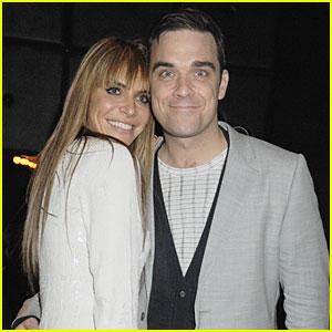 Robbie Williams: Wedding Photos with Ayda Field!