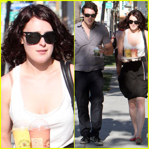 Rumer Willis & Micah Alberti: Urth Day Drinks