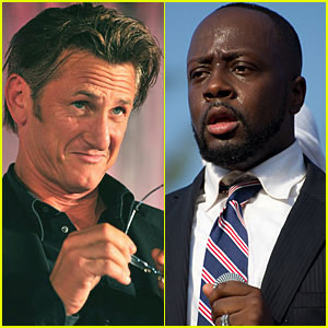 Sean Penn 'Suspicious' of Wyclef Jean's Run for Haiti Presidency