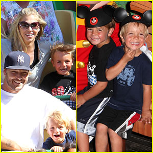 Sean Preston & Jayden James: Family Day at Disneyland!