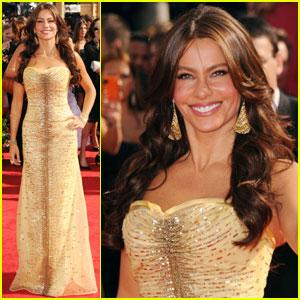 Sofia Vergara: Emmys 2010 Red Carpet
