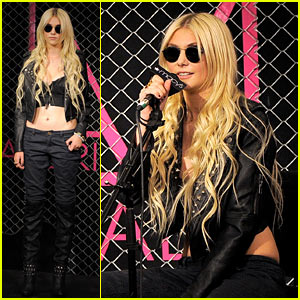 Taylor Momsen Launches the Material Girl Line!