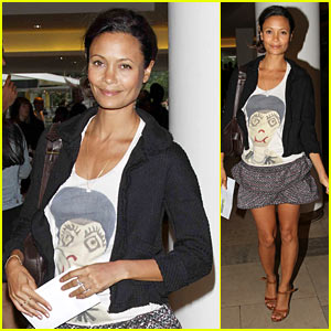 Thandie Newton Goes 'Into the Hood'