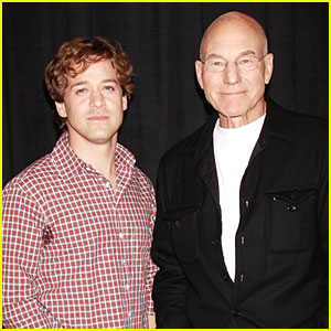 TR Knight: 'A Life in the Theatre' with Patrick Stewart!