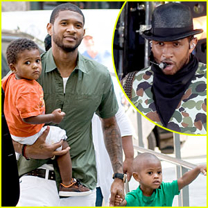 Usher &#038; Sons: Central Park Family!