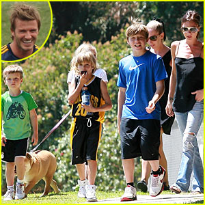 The Beckhams From Coast to Coast