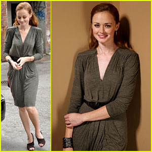 Alexis Bledel: 'Conspirator' Conference at TIFF