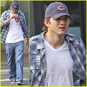 Ashton Kutcher Needs To Cool Down