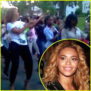 Beyonce: Block Party Wobble!