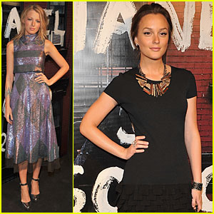 Blake Lively: Chanel Soho Opening with Leighton Meester