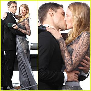 Blake Lively & Sam Page: Kiss Kiss!