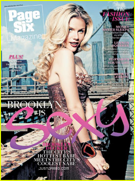 Brooklyn Decker Covers 'Page Six' Magazine