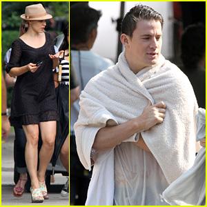 Channing Tatum & Rachel McAdams Film 'The Vow'