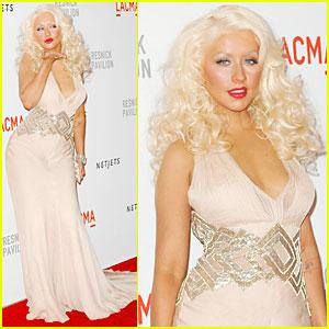 Christina Aguilera: LACMA Unmasking!