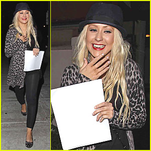 Christina Aguilera Makes It To Matsuhisa