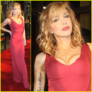 Courtney Love Wows Wall Street