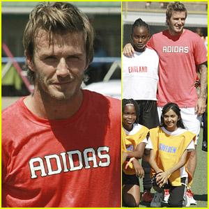 David Beckham's Trip To Trinidad and Tobago