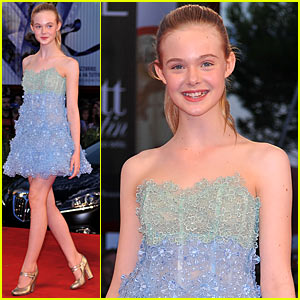 Elle Fanning: Venice Film Festival for 'Somewhere'