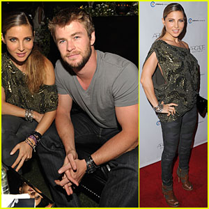 Chris Hemsworth & Elsa Pataky: The Autumn Party Pair